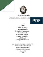 SOSIALISASI IPSG