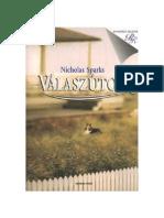 Nicholas Sparks - Választuton 4.06 másolata