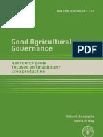 Good Agriculture Governance