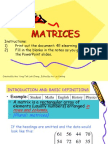 4E Elearning Matrices