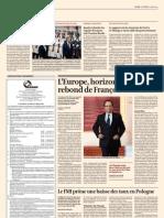 L'Europe, horizon lointain du rebond de François Hollande