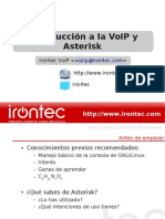 Introduccion a La VoIP y Asterisk