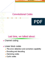 Channel Coding - Convolutional Codes