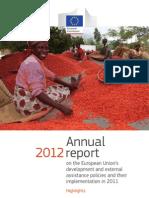 Europeaid Annual Report 2012 Highlights En