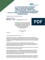 Protocolo Trata Transnacional - 2006 ISDEMU