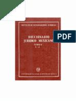 Diccionario Juridico Mexicano - Tomo v I-j