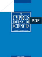 Cyprus Journal of Sciences 10