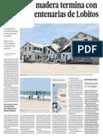 La Destruccion Del Patrimonio Playa Lobitos