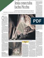 Naupa Iglesia Conectada a Machu Picchu