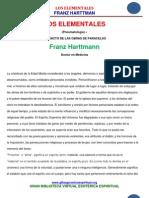 11 17 LOS ELEMENTALES Franz Harttman Www.gftaognosticaespiritual.org
