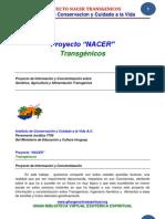 11 16 Proyecto NACER TRANSGENICOS Www.gftaognosticaespiritual.org