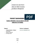analiza mediului concurentaial la nivelul industriei de mobila