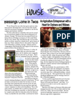House of Friends Newsletter 04.09