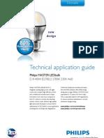 Technical Application Guide MASTER LEDbulb D 8 40W E27 B22 2700K 0912 LR