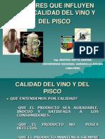 Factores Del Vino y Del Pisco