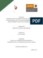 Proyecto Ejecutivo Francisco Javier Alvarez Broca