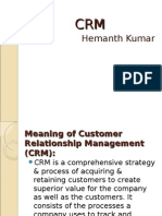 Crm Reliancemartandbigbazaar Hemanth 110922003903 Phpapp02