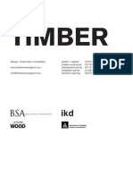 Timber Design + Fabrication Competition Brief