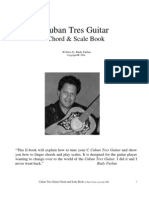 Guitar Book Cuban Tres Chord and Scale Book