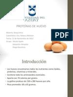 Proteinas huevo de compu.ppt