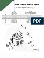Cummins NTA855-C360 Parts Catalogue