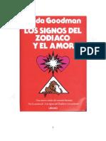 Linda Goodman-Zodiaco y Amor