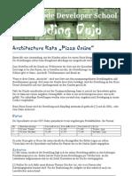 Architecture Kata Pizza Online