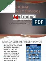 PRESENTACION MODERNOLOGY 2013