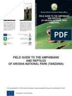 Gua de Identificacion de Anfibios y Reptiles de Tanzania