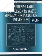 Computer Simulated Plant Design for Waste Minimization & Pollution Prevention