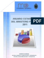Anuario Estadistico Mp 2011