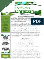 5/14/13 Newsletter