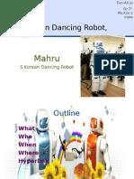 7r Eun-Ah Korean Dancing Robot