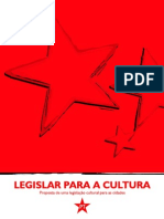 Cartilha - Legislar Para a Cultura