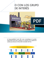 DIÁLOGO CON LOS GRUPO DE INTERÉS