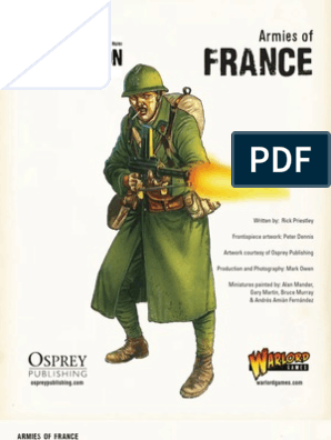 133659846 Bolt Action French Army List PDF | Armoured