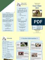 Goat Clinic 2013