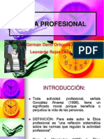 Etica Profesional Para Estudiantes