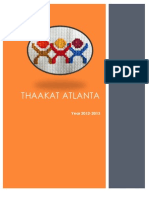 Thaakat Atlanta 2012-2013