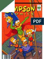 simpson 6 El más grandioso ¡ouh! sobre la tierra y McBain comics Muerte hasta el último suspiro