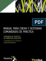 MANUAL PARA CREAR Y GESTIONAR COMUNIDADES DE PRÁCTICA