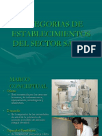 Categorizacion Del Sector Salud