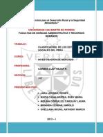 Clasificacion Nsc en El Peru