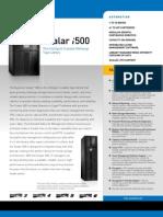 Scalar i500 Datasheet [DS00340A]-1