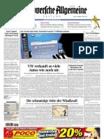 Hannoversche Allgemeine Zeitung 20110428