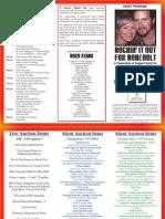 Scott Robenolt Event Program