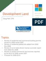 2009 Kootenai County Market Forum Development Land Slides