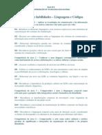 Competencias e Habilidades - LC