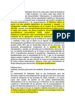 Patologias Moleculares de La Enfermedad de Alzahimer
