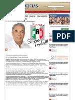 17-05-2013 Arrancará Pepe Elías con un encuentro con la sociedad civil